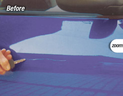 car body repairs - scratch dent scuff repairs